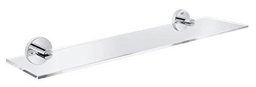 Preisvergleich Produktbild Grohe Essentials Glasablage 600 mm, supersteel, 40799DC1