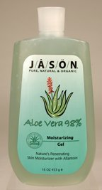 Jason Naturals 98% Aloe (Jason Natural Aloe Vera 98 Percent Moisturizing Gel 16 Oz, (6 Pack) by Jason Natural)