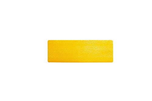 Durable 170304 Stellplatzmarkierung Streifen (selbstklebend und abriebfest) RAL 1003 signalgelb