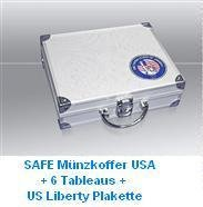 SAFE ALU-MÜNZKOFFER 176 / USA