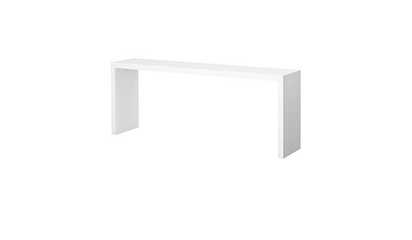 Ikea Malm Occasional Table White 191x74 Cm Amazon De Kuche Haushalt