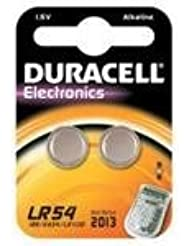 Duracell LR 54–1.5Volts (Pack of 2)