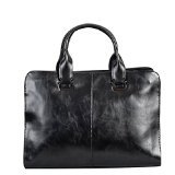 BAIGIO Men's PU Leather Briefcase Messenger Bag Shoulder Bag Tote for Work Business