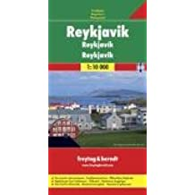 Freytag Berndt Stadtpläne, Reykjavik 1:10.000