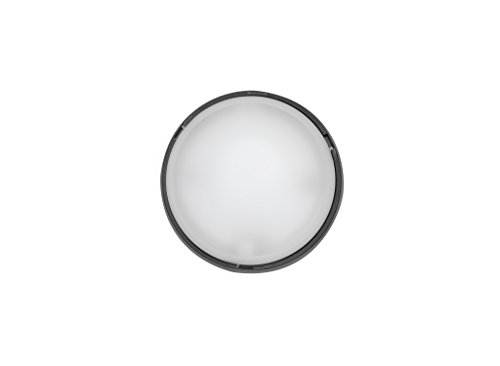 fenoplastica Wandleuchten außen Wandleuchte wasserdicht rund ohne Lüftungsgitter Befestigung Swivel schwarz -