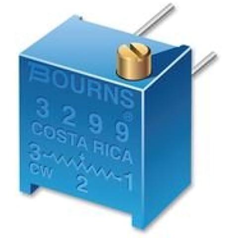 TRIMMER, POT, 2MOHM, 10%, 25TURN, TH 3299P-1-205LF Di BOURNS