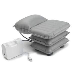 Aufblasbar Mangar Badekissen mit Airflo Batterieverdichter   Neueste Modell