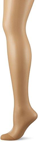 Dim Mes Essentiels Voile Transparent, Collants Femme, 15 Den Marron (Ambre), Medium (Taille fabricant: 3)