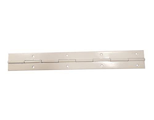 Moderix 240mm Stangenscharnier Klavierband Stangen Schanier Weiß