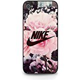 Appealing Floral Background Design Nike Phone Case Cover for Coque iphone 5/5s Just...
