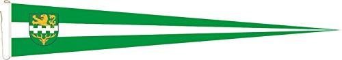 Haute Qualité pour U24 Long Fanion Table Montagne Drapeau Gladbach 250 x 40 cm