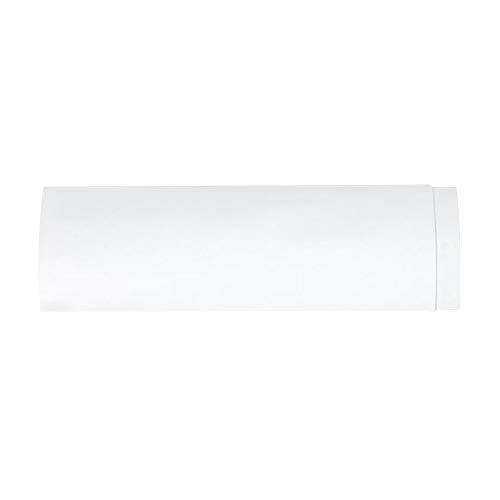 Wnuanjun, Parabrezza Regolabile Anti-Vento in PVC con deflettore Anti-Diretto. Soffietto Anti-Acqua Flessibile for Camera da Letto (Color : Grigio Chiaro)