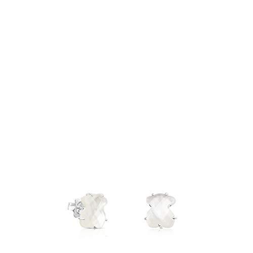 2 - Pendientes BRIGHT cristal de roca hidrotermal