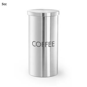 Zack - Cera - Boîte En Inox Pour Café 22,5 Cm