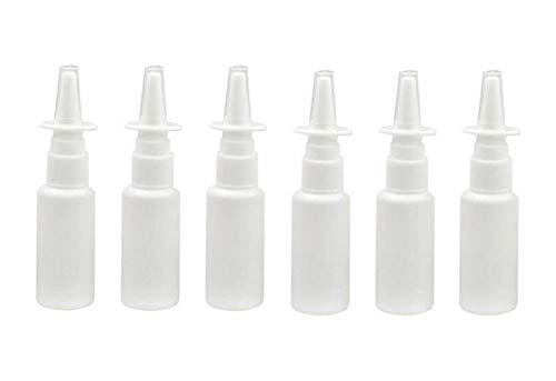 0.5 Unze Parfum Spray (12 STÜCKE 15 ML 0,5 UNZE Leere Nachfüllbare Weiß Kunststoff Feinen Nebel Nasenspritzen Flasche Tragbare Parfüm Make-Up Wasser Zerstäuber Jar Töpfe Kosmetische Gesichtsschönheit Container)