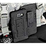 Cocomii Robot Armor Galaxy J5 Prime/On5 2016 Funda [Robusto] Funda Clip para Cinturón Soporte Antichoque Caja [Militar Defensor] Case Carcasa for Samsung Galaxy J5 Prime (R.Black)