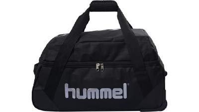 hummel Unisex- Erwachsene Authentic Sporttasche, Black, M