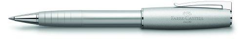 Faber-Castell 149105 – Bolígrafo de bola (trazo medio), plateado