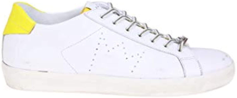 Leather Leather Leather Crown scarpe da ginnastica Uomo M136304 Pelle Bianco | Ordine economico  c23ac6