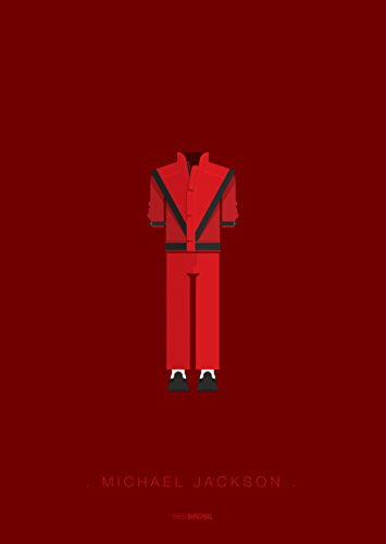 Michael Outfits Jackson (Michael Jackson Outfit 11 x 14 Kunstdruck)