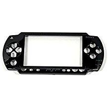 Für Sony PSP 1000PSP1000Black Front Frontplatte, Shell Case Cover TPU Ersatz Sony Faceplate Case