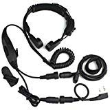 Baofeng VOX Headset Kehle mic Hörmuschel UV-5R UV-5RA Plus-UV-5RB 888S 777S 666S