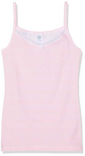 Sanetta Mädchen Unterhemd Top Allover Rosa (Neon Pink 38075) 152
