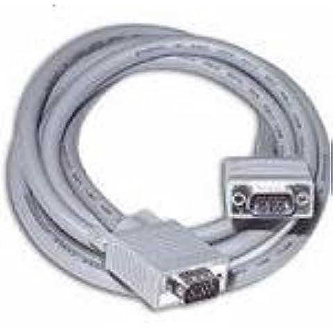 NEW! C2G 81089 Premium Shielded HD15 M/M SXGA Monitor Cable 7m