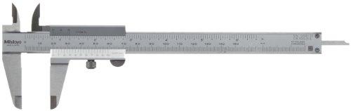 Mitutoyo 530-316 Standard-Nonius Messschieber, 0-150 mm