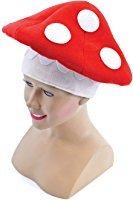 Toad Stool Hat, Fancy Dress Hat, (Mario Toad Kostüm)