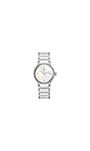 Rado Centrix Automático Diamante Madre de Perla Damas Reloj r30160912