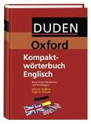 Duden-Oxford - Kompaktwörterbuch Englisch: Deutsch-Englisch /Englisch-Deutsch - Englisch übersetzung Oxford