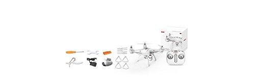 trendy planets® SYMA X8PRO GPS WIFI FPV RC Quadrocopter mit 1MP HD Kamera / Hover Funktion Headless Modus RTF 2,4 GHz / Neuheiten 10/2017 (X8PRO, white) - 9