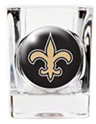 Personalized NFL Shot Glass - New Orleans Saints Shot Glass by JDS