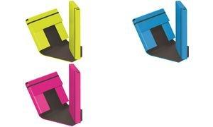 Pagna Heftbox Trend Colours A4 3 Innenklappen, mit Gummizugverschluss, dunkelrosa