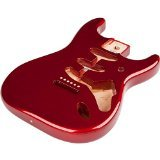 Fender Classic Series 60's Stratocaster SSS Alder (Erle) Body, Vintage Bridge Mount, Candy Apple Red