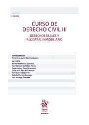 Curso de Derecho Civil III Derechos Reales y Registral Inmobiliario 7ª Edición 2018 (Manuales de Derecho Civil y Mercantil)