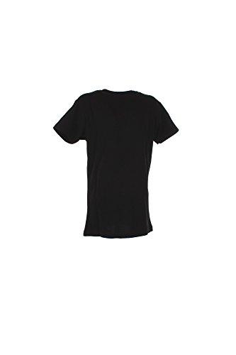 T-Shirt Boy London 100x100Cotone BL613 Made in Italy MainApps Nero