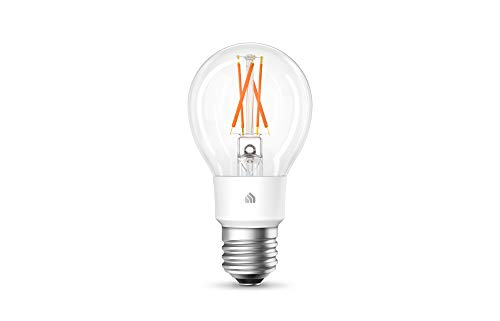 TP-Link Smart WiFi Filament Light Bulb, E27, 7W, Works with Amazon Alexa (Echo and Echo Dot), Google Home and IFTTT, Dimmable Soft Warm White, No Hub Required [Energy Class A++]