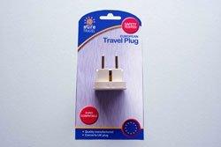 Sicher, auf UK europäischen Travel Adapter-UK 3-Pin zu EU 2Pin