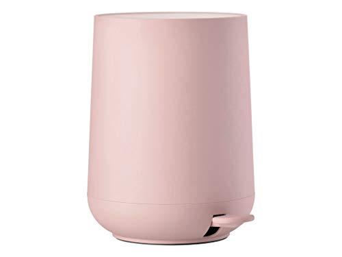 Zone Denmark, Nova Treteimer/Kosmetikeimer/Mülleimer fürs Badezimmer, 5 Liter, rosa