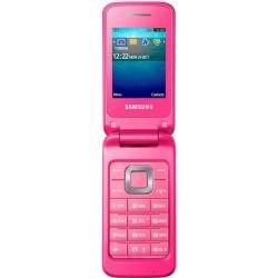 Samsung C3520 Klapphandy (5,6 cm (2,2 Zoll) Display, 1,3 Megapixel Kamera) coral-pink