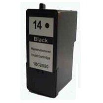 Prestige Cartridge Lexmark No. 14 Druckerpatrone für Lexmark Z2300, Z2310, Z2320, X2600, X2630, X2650, schwarz