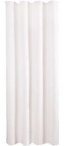 Bestlivings Blickdichte Weißer Gardine mit Kräuselband in 140x245 cm (BxL), in vielen Größen und...