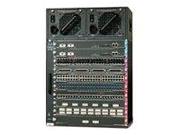 Cisco Systems Catalyst 4510R Grundeinheit 10-Slot für Ethernet Fast Giga -