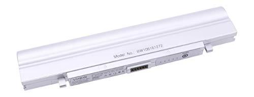 vhbw Batterie LI-ION 4400mAh 11.1V Argent Compatible pour Samsung X05-Serie remplace SSB-X10LS3 / SSB-X10LS3/C/SSB-X10LS3/E/SSB-X10LS6 / SSB-X10LS6/C