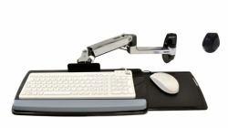 Ergotron 45-246-026 - LX Wall Mount Keyboard Arm Silber (Keyboard ARM with 9 EXTN - Wall Mount Polished Aluminium) Ergotron Lx Wall Mount Lcd