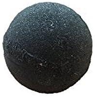 Soapie Shoppe - Bomba de baño Midnight Jet Black, bomba de baño extra grande, peso: entre 7-8 onzas. La bomba de baño negra original.