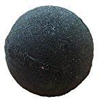 Soapie Shoppe : Bomba Da Bagno Midnight Jet Black Di Soapie Shoppe, Bomba Da Bagno Extra Large dal peso di 200-225 g. La Bomba Da Bagno Nera Originale.