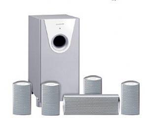Quadral Surround 2100 Aktiv Lautsprecher silber